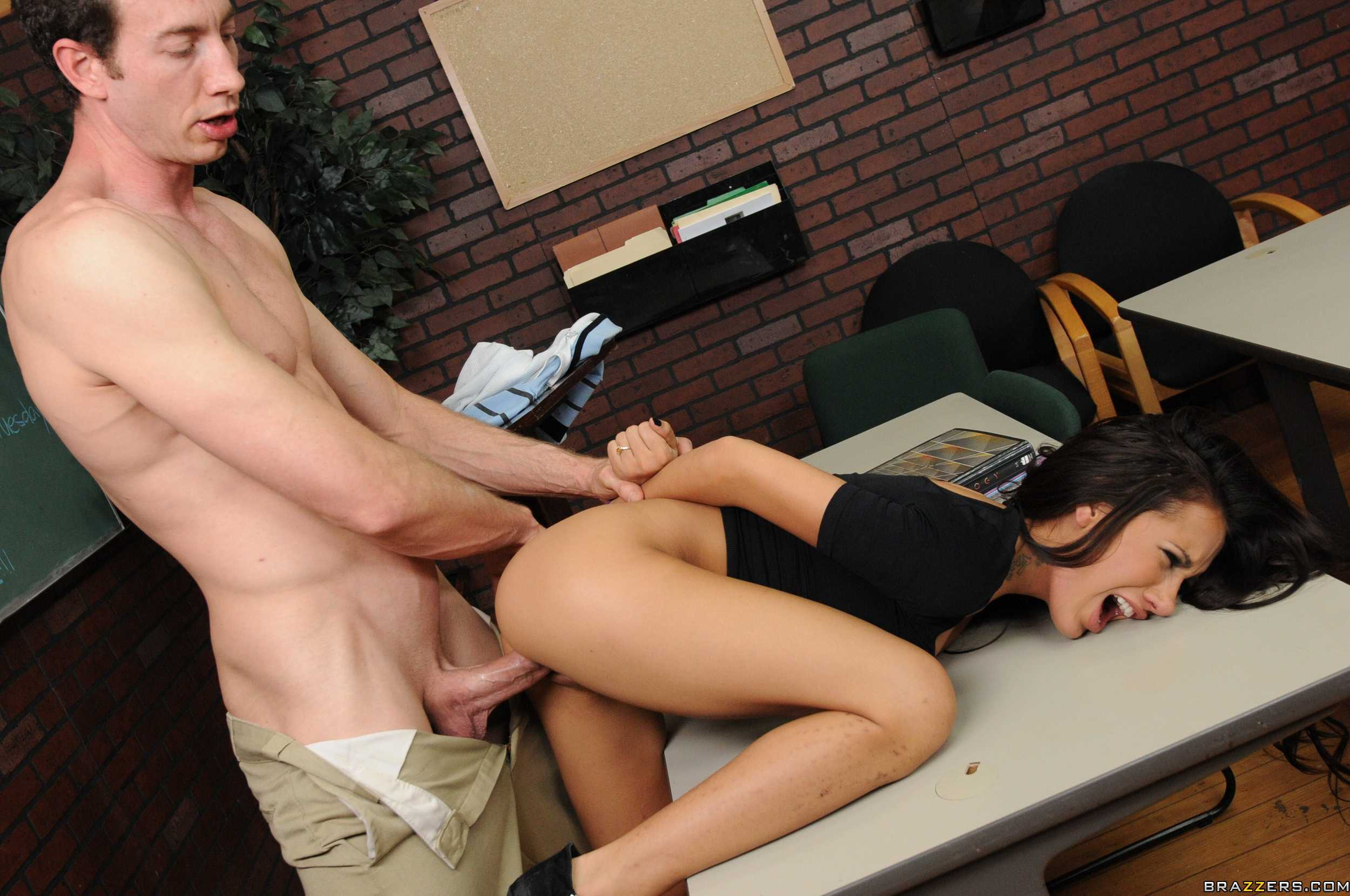 Fucked on her desk